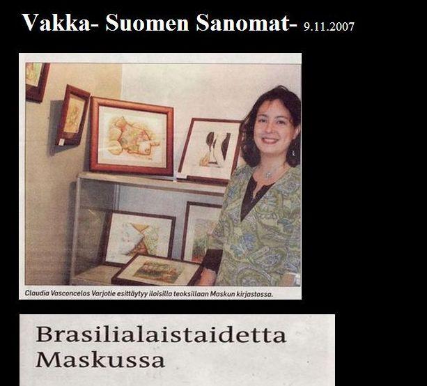 artigo 2007-11 Vaka-Suomen Sanomat