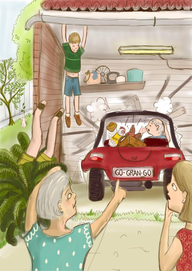 Harriett and Hunch and the Case of the Vanishing Grandad