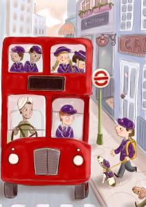 bus colour ed